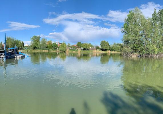Tešedíkovo, odbahnenie, čiste jazero, ťažba sedimentu